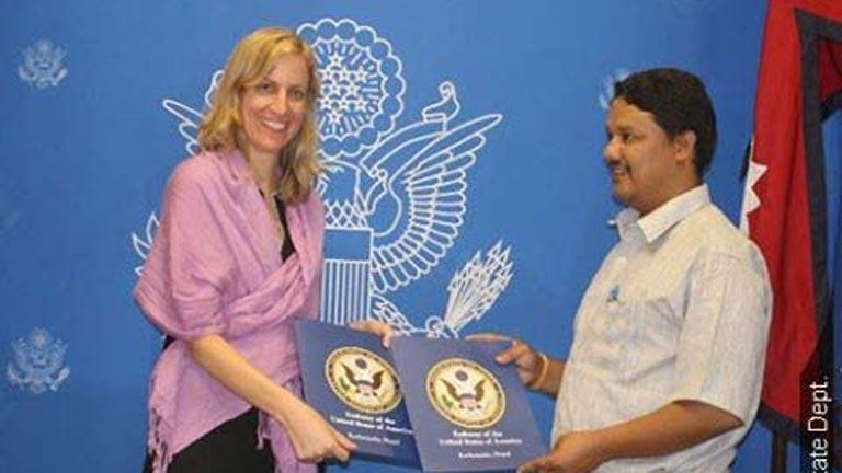 Mou signed to make Surkhet American Corner